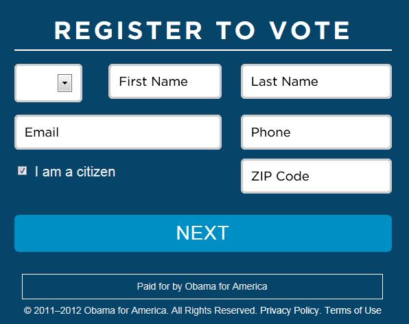 REGISTER TO VOTE ONLINE HERE
