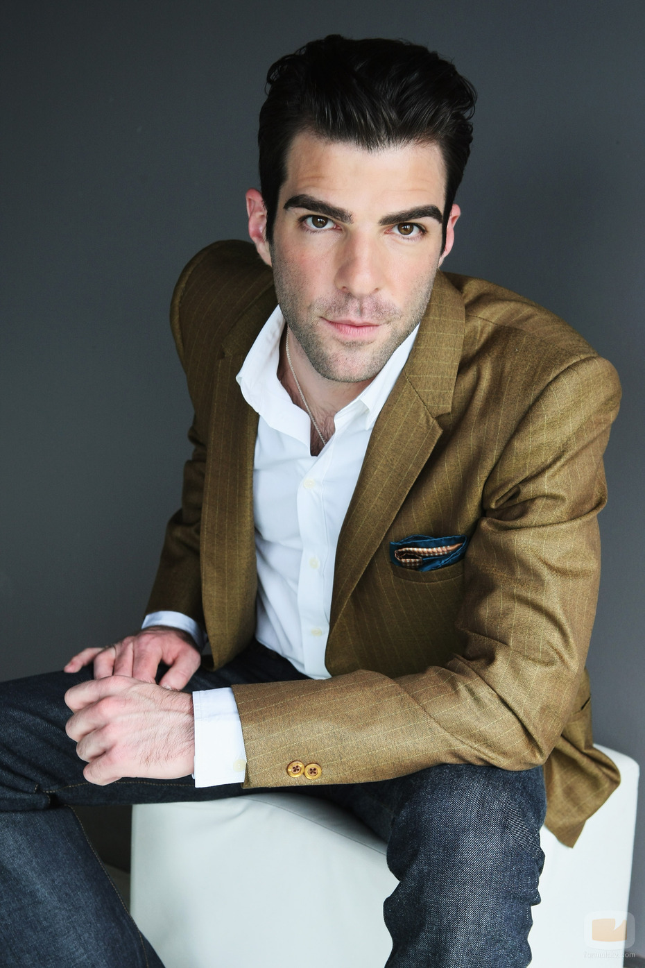 WOOF; Hipster Edition: Zachary Quinto Wants You To Vote!