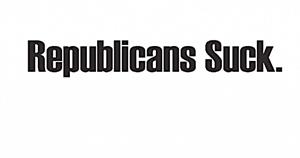 Republicans suck