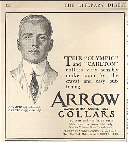 Arrow Collar Man Charles Beach