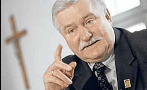 Lech Walesa homophobe