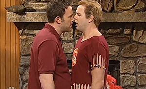 Ben Affleck SNL New Begginings Straight Camp
