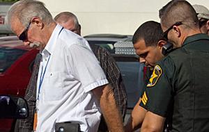 Terry Jones arrested