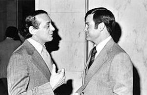 Dan White and Harvey Milk