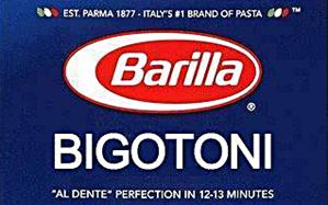 Barilla Bigitoni