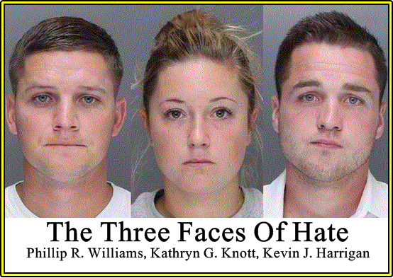 The Three Faces Of Hate
