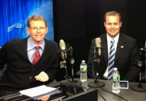 TLC's Josh Duggar with his boss FRC President, hate group leader, and white supremacist Tony Perkins