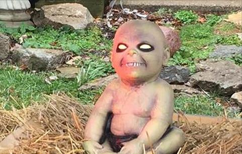 Zombie baby Jesus