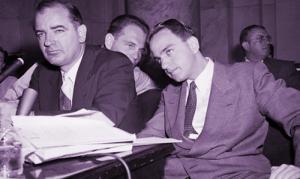 Joe McCarthy and Roy Cohn
