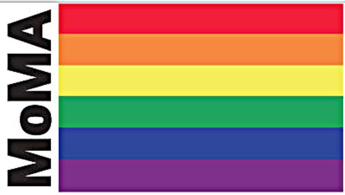 MoMA Rainbow flag