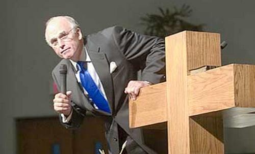 Texas Pastor bon fire