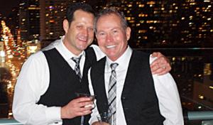Brian Merucci and Bruce Morgan