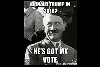 Hitler and Neo Nazis Vote 4 Trump
