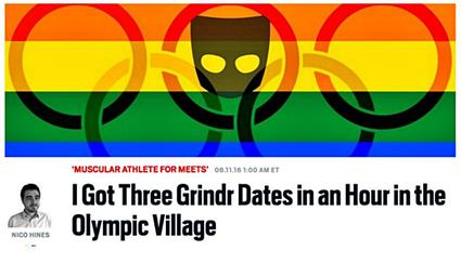 Daily Beast Grindr Olympics