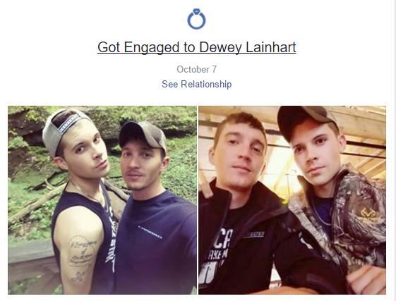 Cincinnati, Ohio Trump Rally Gay Couple Identities Discovered: Meet Dewey Lainhart and Cody Moore