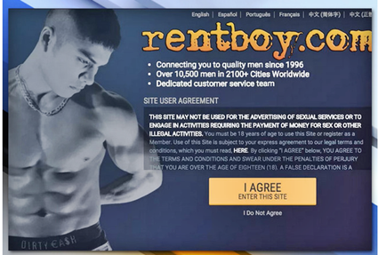 Homeland Security Targeted Rentboy.com Founder Jeffrey Hurant Pleads Guilty to Prostitution Charges