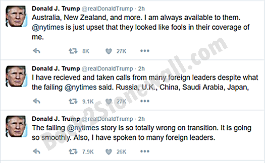 Donald Trump Has Another Twitter Meltdown Over Transition Team Disarray and Firings