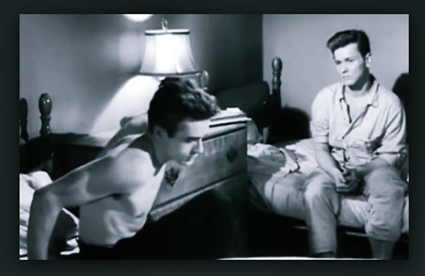 WATCH: James Deans Rather Homoerotic Original Screen Test for East of Eden - Video