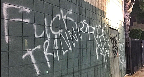 Los Angeles and Milwaukee LGBT Centers Vandalized with Anti-LGBT Graffiti This Week