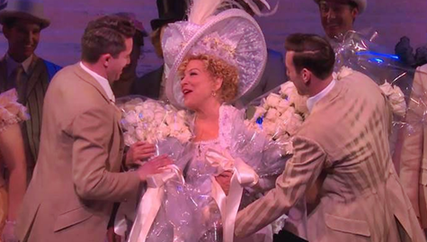 """IRST LISTEN:  Bette Midler Performs """"I Put My Hand In"""" From The Broadway Cast Recording of Hello Dolly (Audio)"""