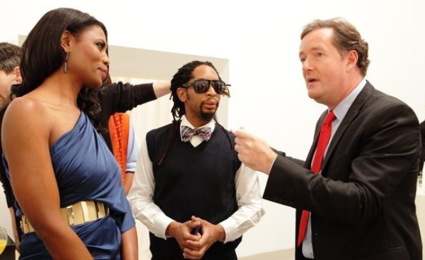 """Piers Morgan: Omarosa Manigault Called Me A """"Fucking Faggot"""" When We Did The Apprentice"""