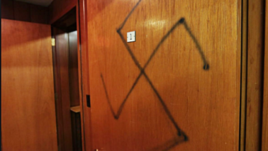 LGBT Friendly Church In Montana Vandalized With Swastikas and Anti-Gay Pamphlets