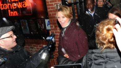 Stonewall Veterans Association Accuse Cynthia Nixon for 'Ripping off gay history' For Campaign Purposes