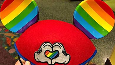 Disney Starts Selling Rainbow Pride Mickey Mouse Ears!