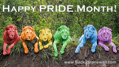 Today in Gay - June 1st. 2018: Happy PRIDE Month!