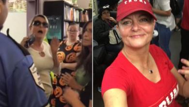 KKK- hristian Trump Supporter Crashes Drag Queen Story Hour