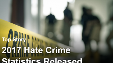 FBI Releases 2017 Hate Crime Statistics: 57.8% of Victims Were Gay Men