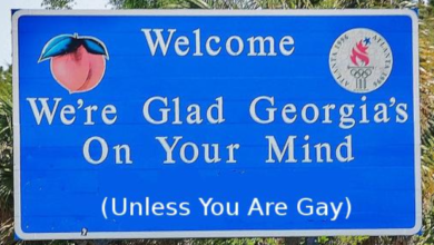 Georgia Republicans Introduce ANOTHER 'Religious Freedom' Right to Discriminate Against LGBT Bill