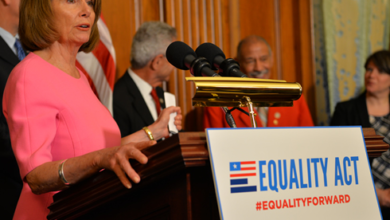 Nancy Pelosi Calls Passage Of LGBT Equality Act A 'Priority'