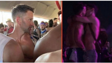 BUSTED: Former GOP Congressman Aaron Schock Caught Making Out With Other Guys at Coachella