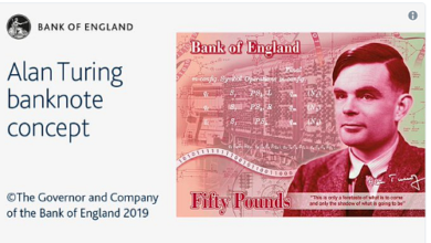 Gay WWII Codebreaker Alan Turing to Be On UK £50 Note