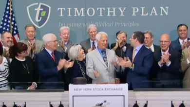 WTF?! - Liberty Counsel Hate Group Leader Mat Staver Rings The Opening Bell at the NYSE
