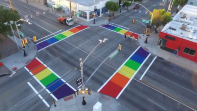Federal Highway Administration Tells Iowa City To Remove Rainbow Crosswalks, They Refuse