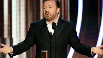WATCH: Ricky Gervais' No Fucks To Give Full Monologue - 2020 Golden Globes [Video]