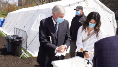 New York State Officials Order Anti-Gay Franklin Graham's Central Park COVID-19 Hospital To Get Out Of Town