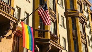 QAnon Nut Republican Marjorie Traitor Greene Co-Sponsors Bill to Ban Rainbow Pride Flag
