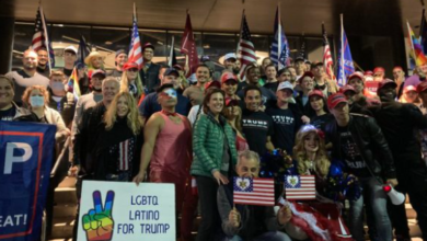 """Seriously Deranged """"Gays for Trump"""" March in West Hollywood"""
