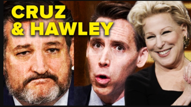 Bette Midler and MidasTouch.com Take on GOP Seditionist Ted Cruz and Josh Hawley